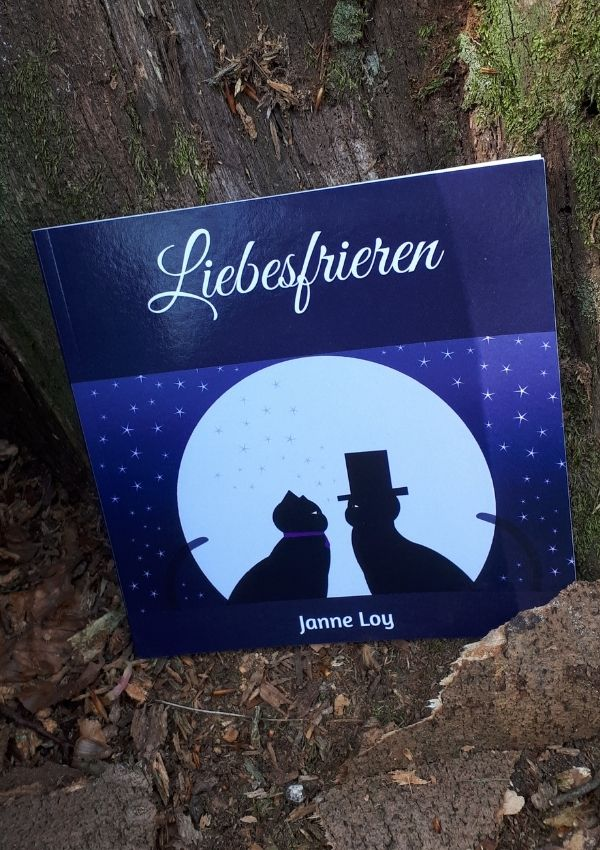 "Buch Gedichtband ""Liebesfrieren"""